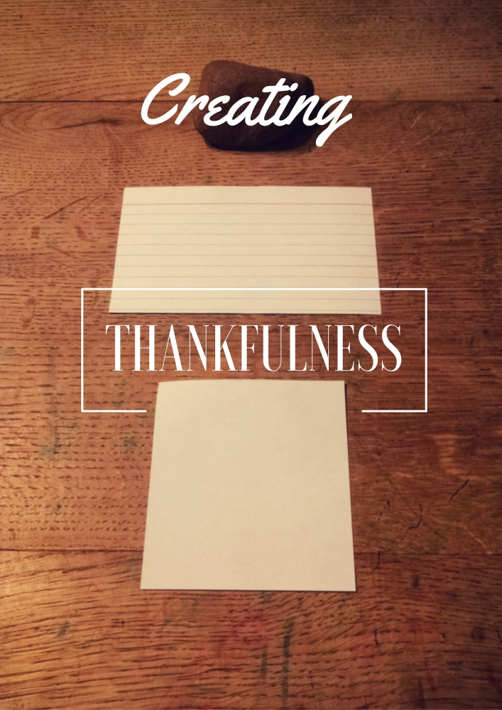 Creating a Culture of Thankfulness